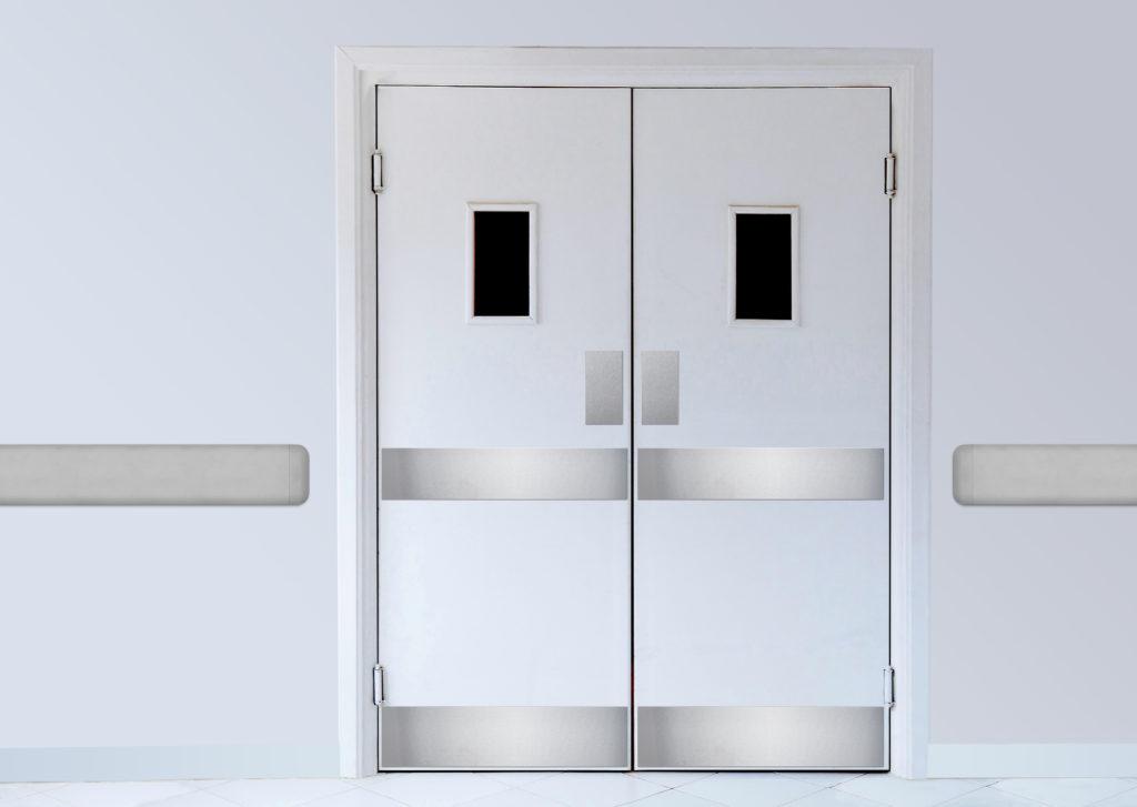 Detalles sobre puerta guardia de acero inoxidable falca protectores//placas